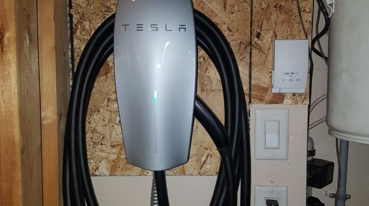 Just wired and installed another TESLA charger for a happy customer, be ready for electric cars they're becoming more and more popular! Starting right away the City of Edmonton is requiring new homes to have a 200amp service if you are planning to put an electric car charger in?...
